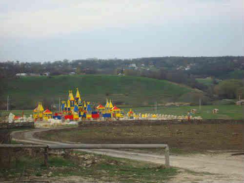 Вид на детский городок