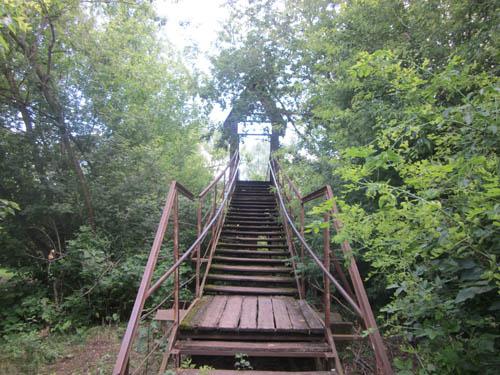 Вход на висячий мост