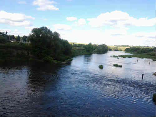 Вид на реку со станции