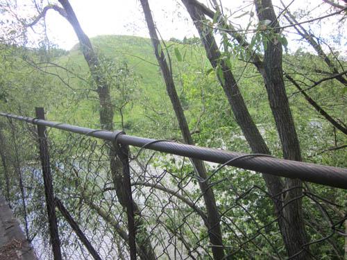 Ограда моста старая