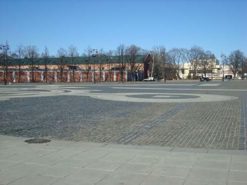 Якорная площадь в городе Кронштадт