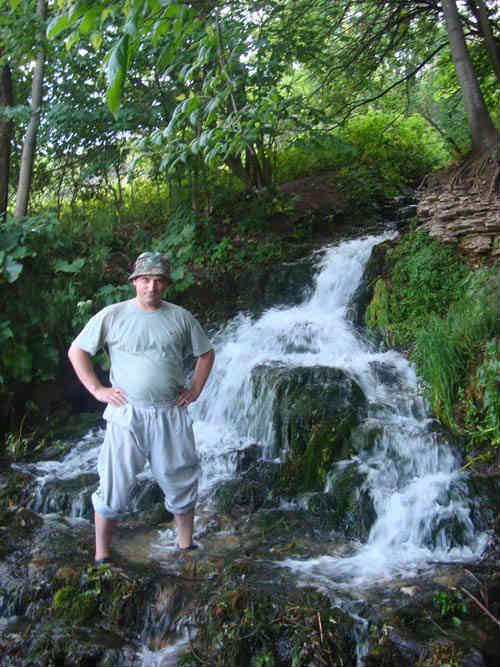 Я на водопаде