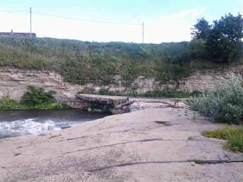 Плотина станции