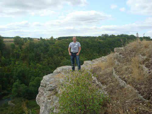 Я на Воргольской скале