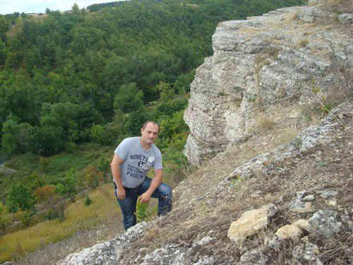 Я на склоне Воргольской скалы