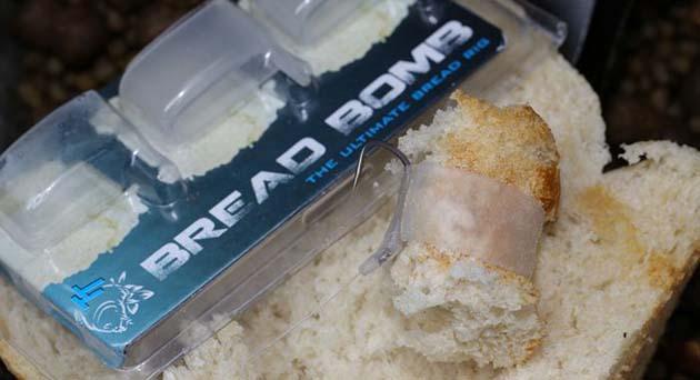 Приманка для ловли из хлеба