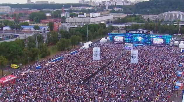 Панорама концерта