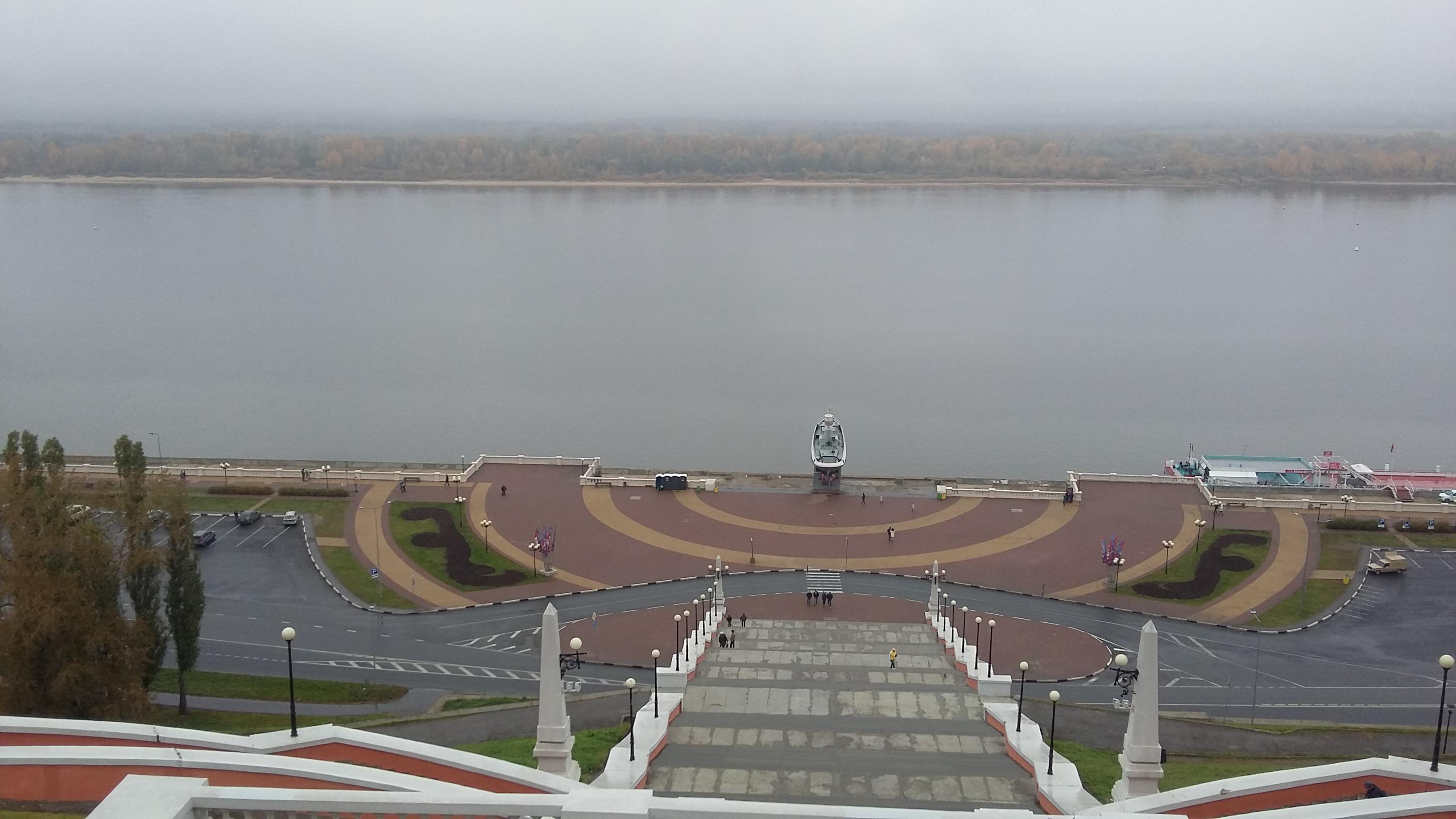 Нижний Новгород Чкаловская лестница