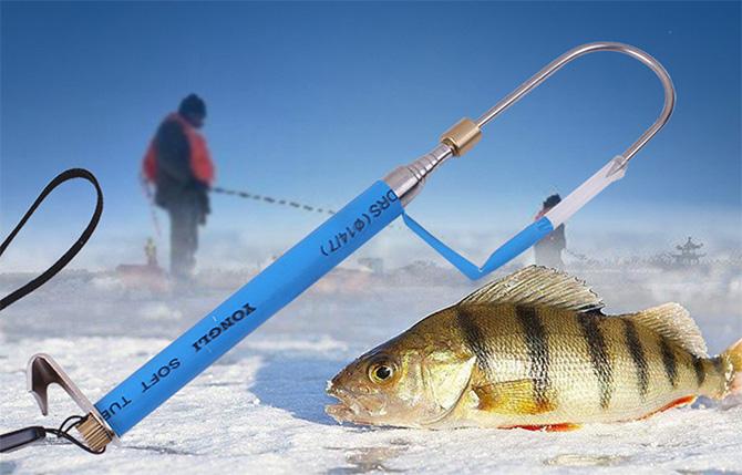 Ловля в русле зимой
