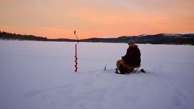 Ловля на зимние приманки